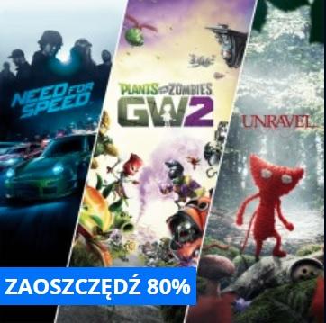 Pakiet 3 gier od EA (PS4)