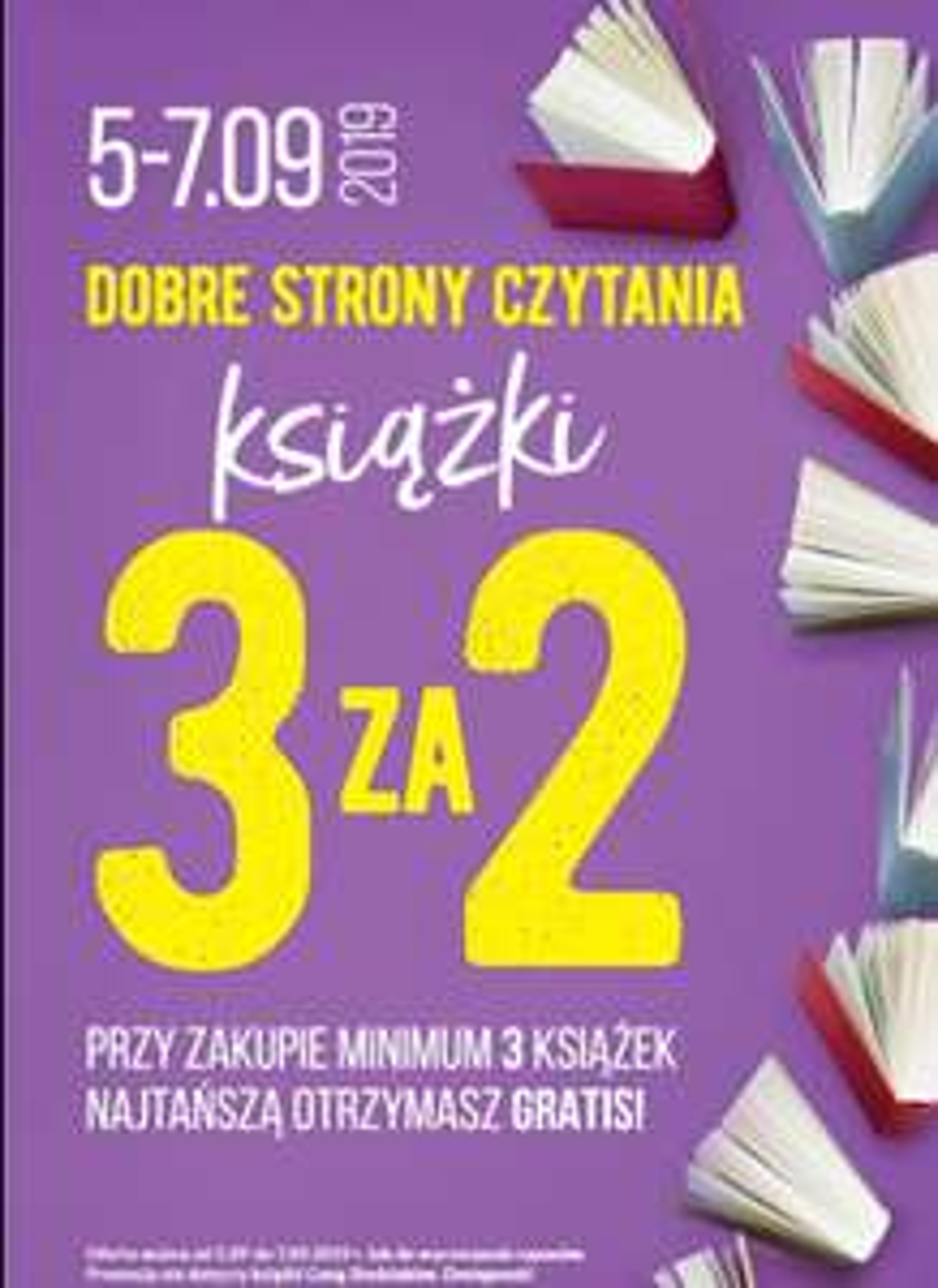 Książki 3 za 2 - Biedronka