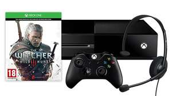 Zestaw Xbox One + Wiedźmin 3 za 1399zł @Microsoft Store 200zł taniej