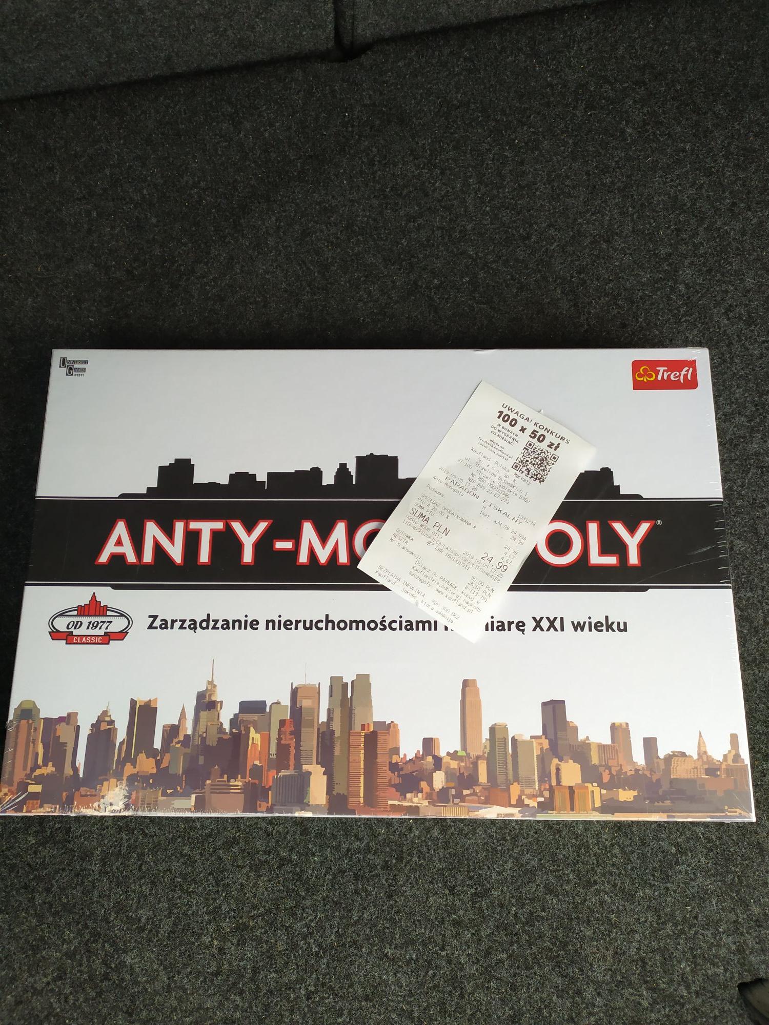 Gra Anty-Monopoly Kaufland