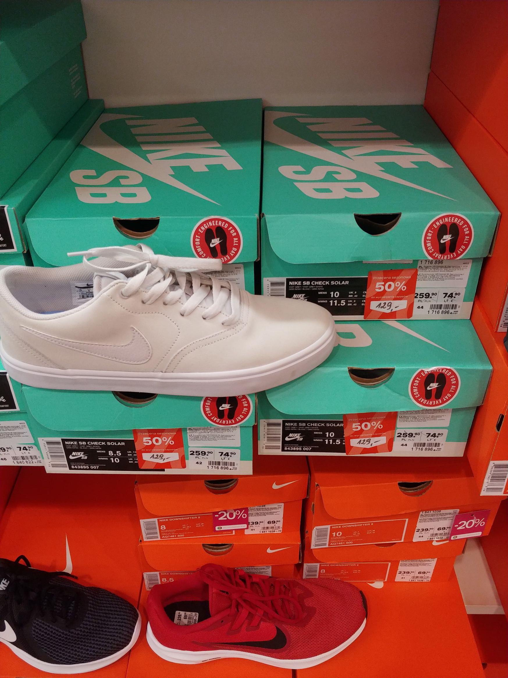 Buty Nike SB check solar ( Deichmann Lublin)