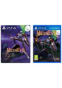MediEvil ze steelbookiem PS4