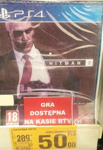 Hitman 2 PS4 - lokalnie