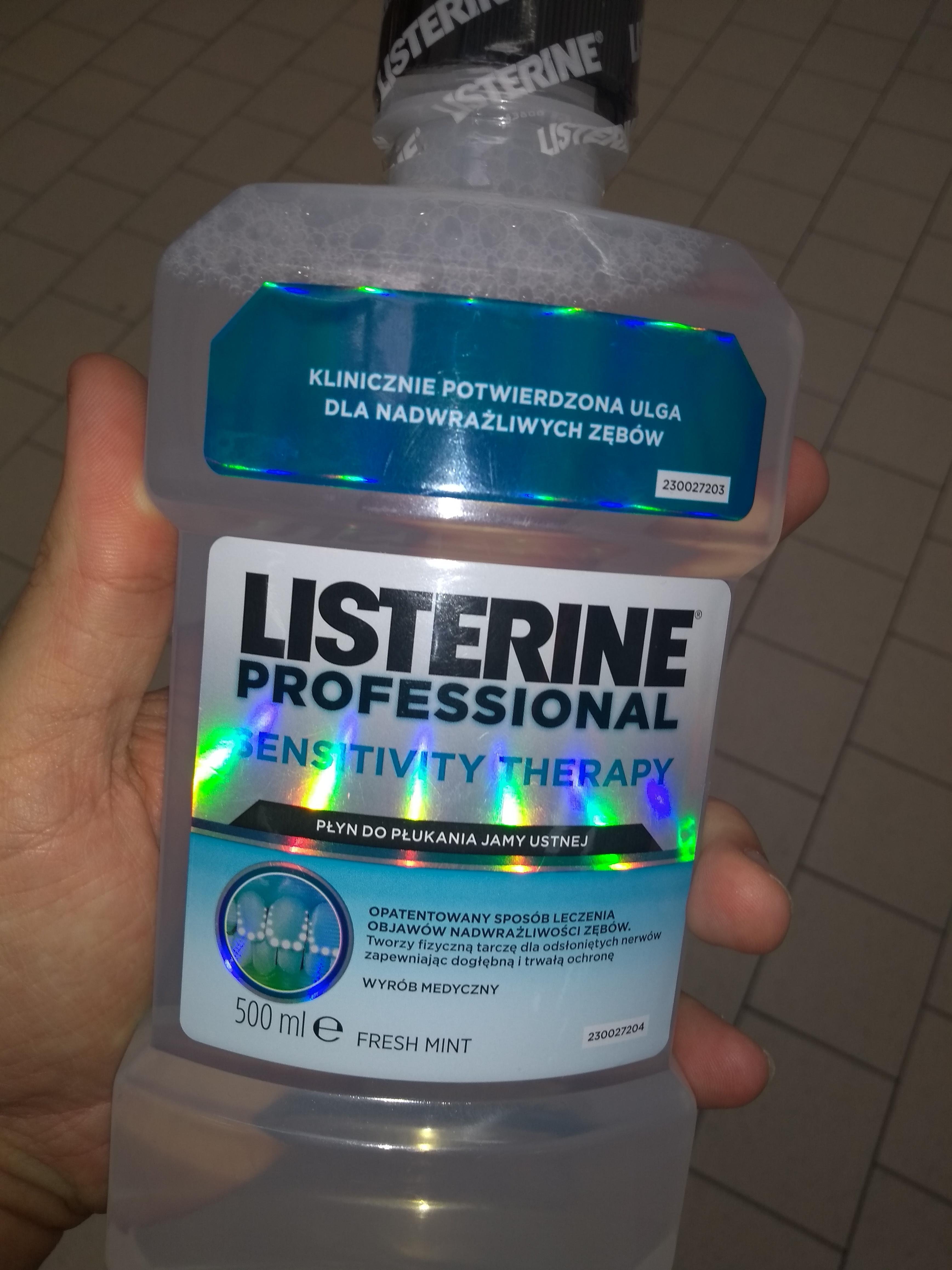 Rossmann płukanka do ust Listerine i nie tylko