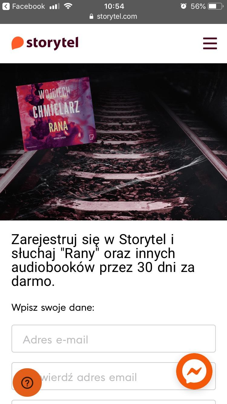 Storytel 30 dni za darmo