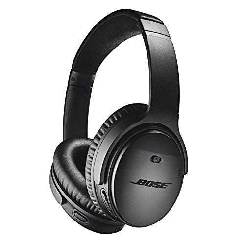 Bezprzewodowe słuchawki nauszne Bose Quiet Comfort 35 mk II (redukcja szumów, BT, NFC, mikrofony) @