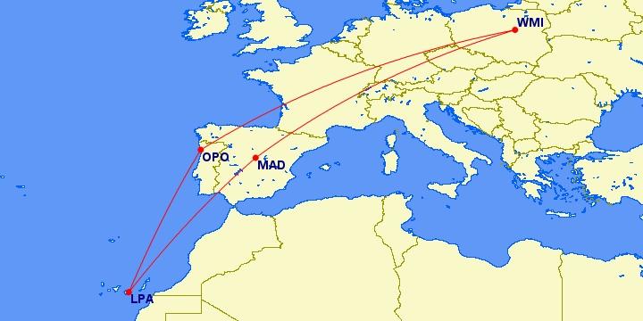 #Multicity [Porto + Gran Canaria + Madryt] Loty z Warszawy