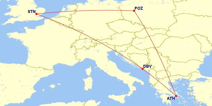 #Multicity [Ateny + Dubrownik + Londyn] Loty z Poznania