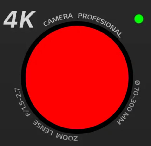 4K Camera Filmmaker Pro [Google Play] aplikacja