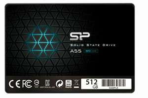 "SP Silicon Power 512GB 2,5"" SSD A55"