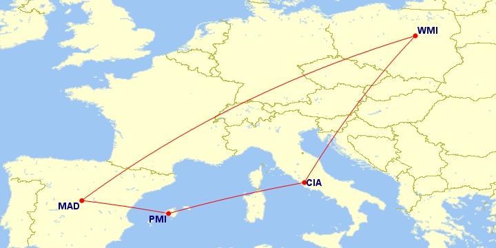 #Multicity [Rzym + Majorka + Madryt] Loty z Warszawy