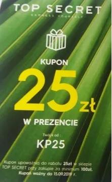 Topsecret - 25zł.