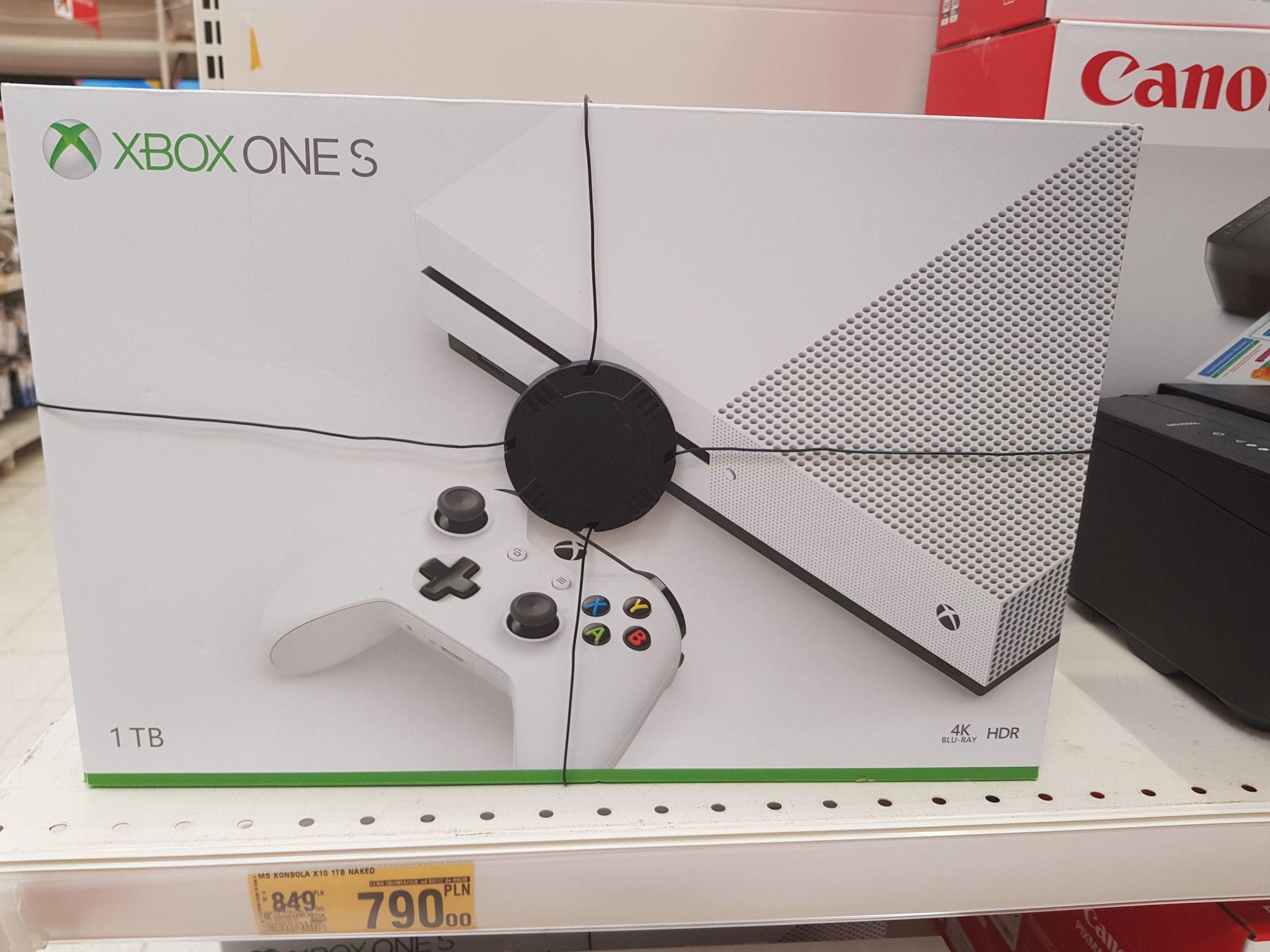 Xbox one s 1TB Szczecin Struga i Kolbaskowk Auchan