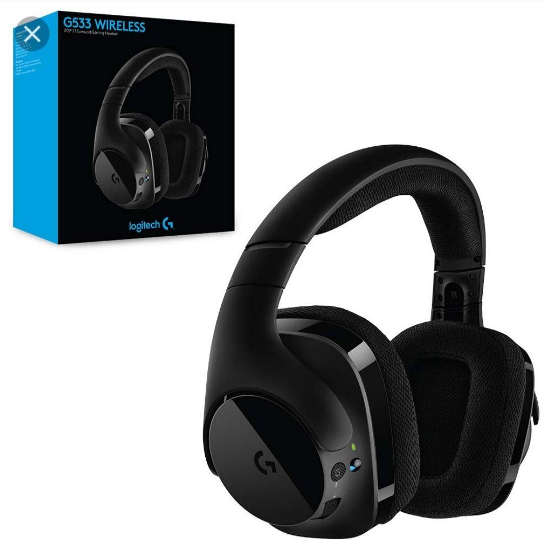 Słuchawki bezprzewodowe Logitech G533
