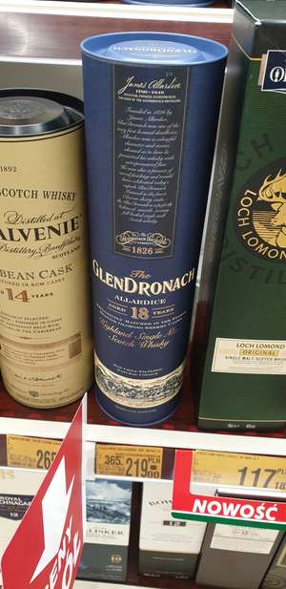 GlenDronach 18 M1 zabrze