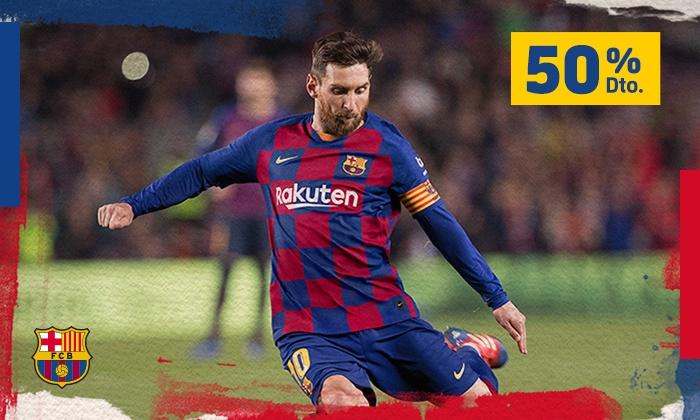 Kod rabatowy na 50% upust na  domowe mecze FC Barcelona w La Liga @Groupon