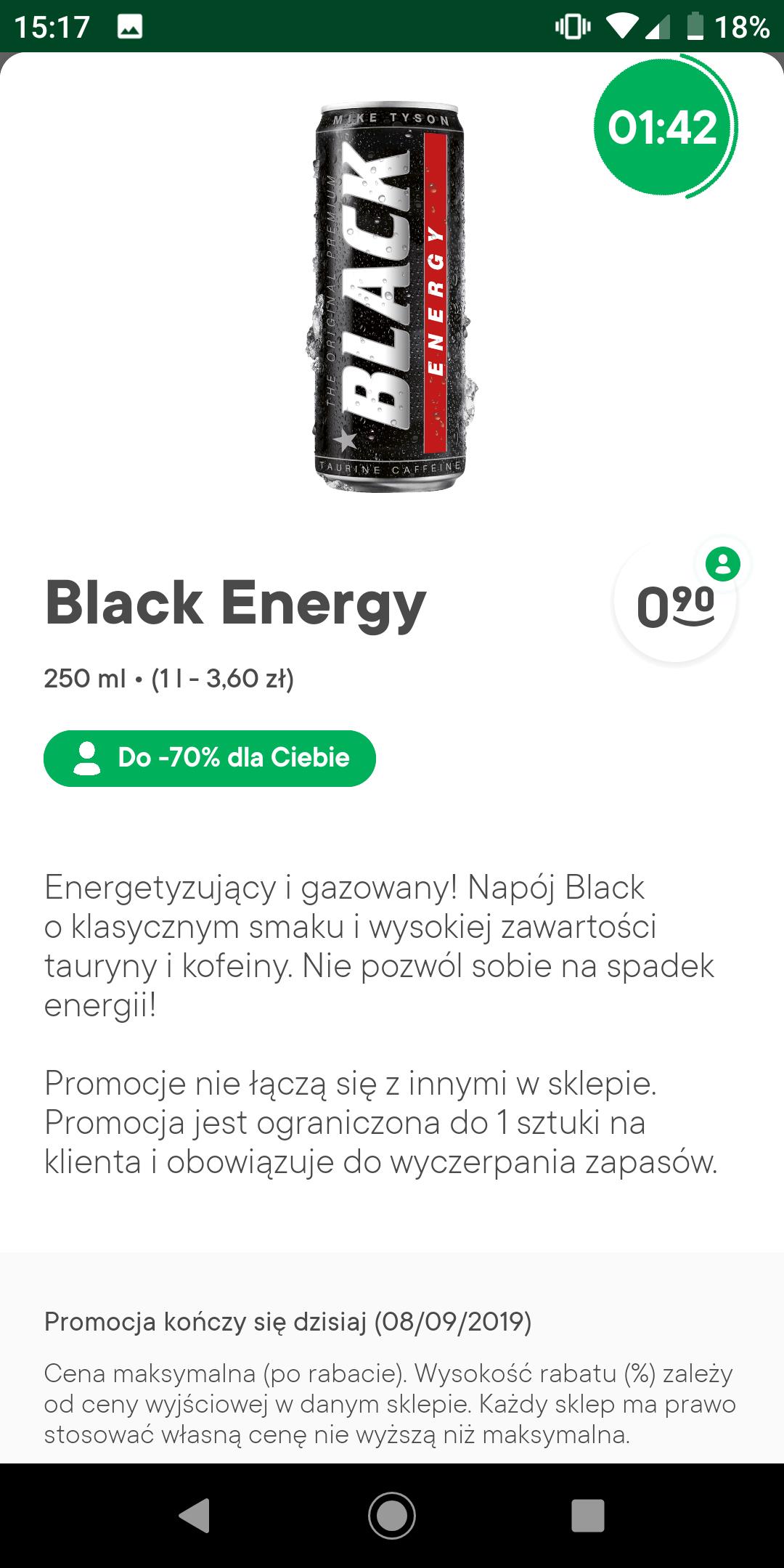 Black Żappka za 90 miedzianych