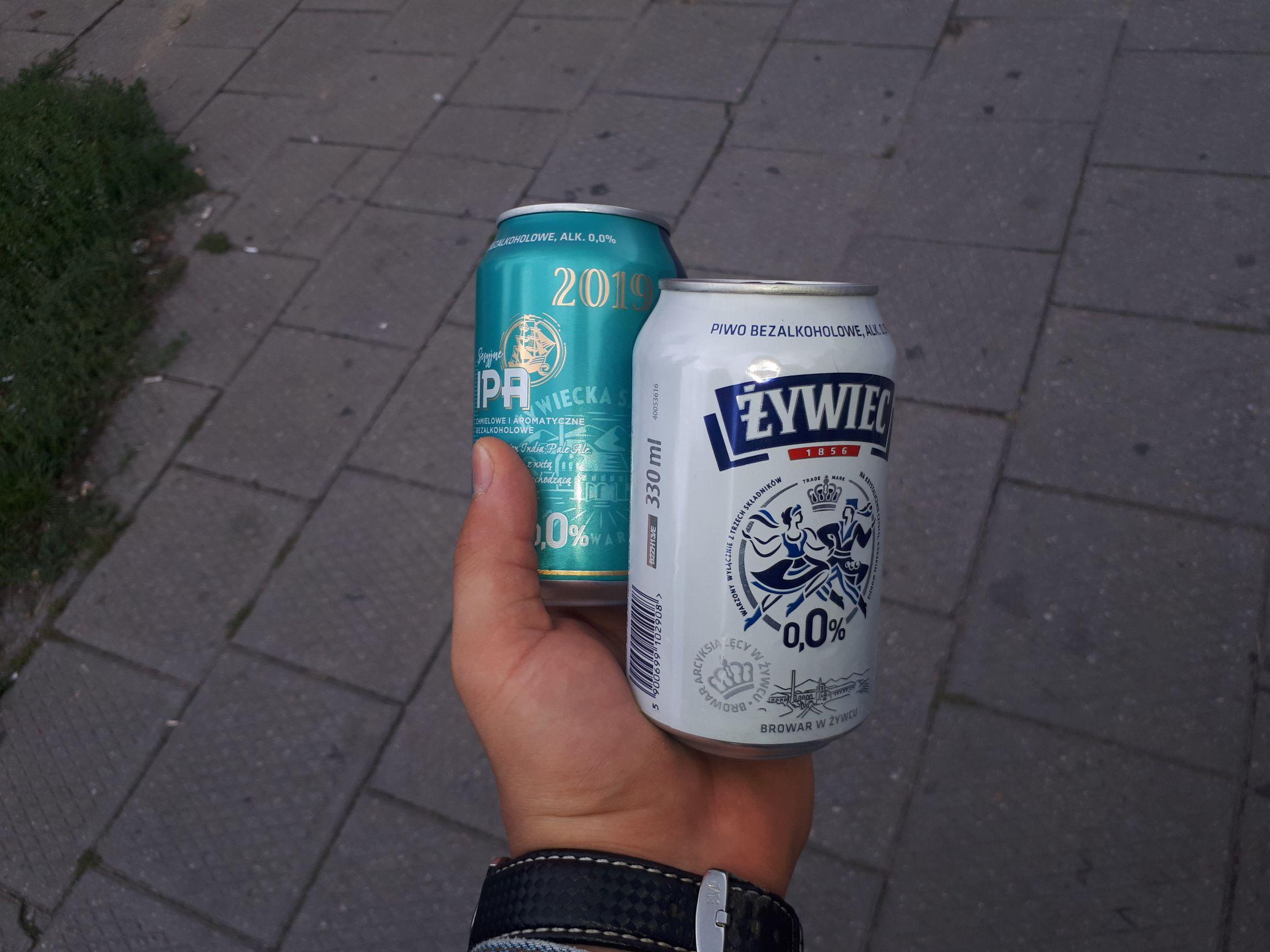 Piwo 0% żywiec Poznań