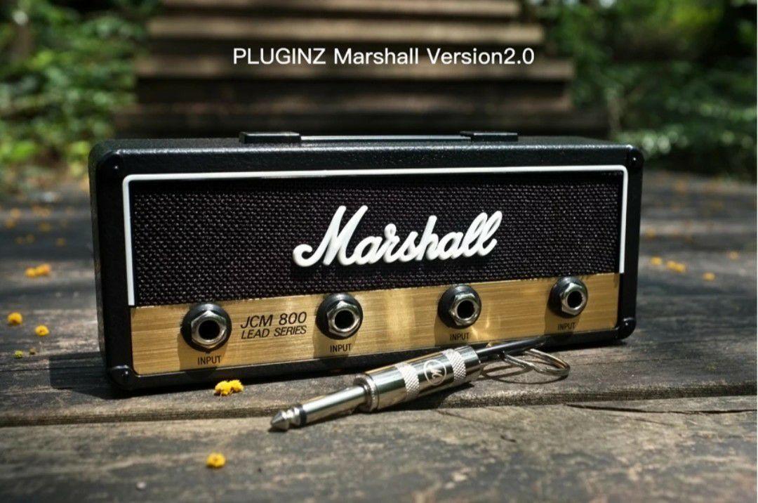 Zawieszka do kluczy Marshall Marshaee JCM800 Jack Rack 2.0 (zawiera 4 breloki)