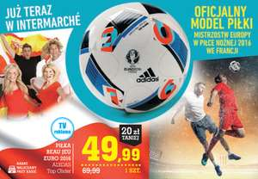 Piłka Euro 2016 Adidas @ Intermarche