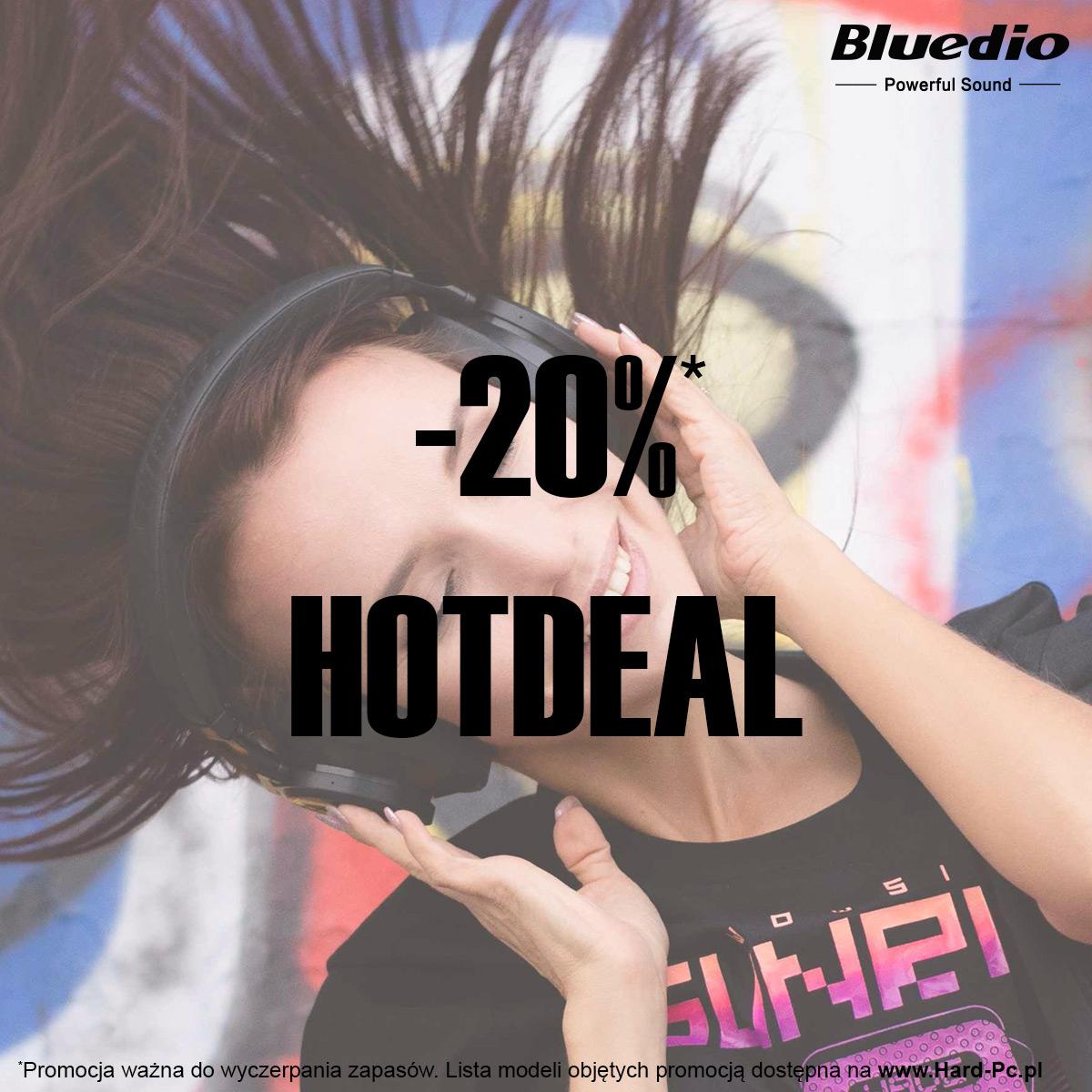 -20% na wybrane słuchawki Bluedio w HardPC
