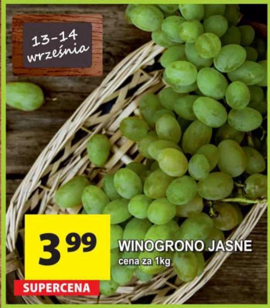 Winogrono jasne 3.99/1kg Arhelan od 13 do 14 września