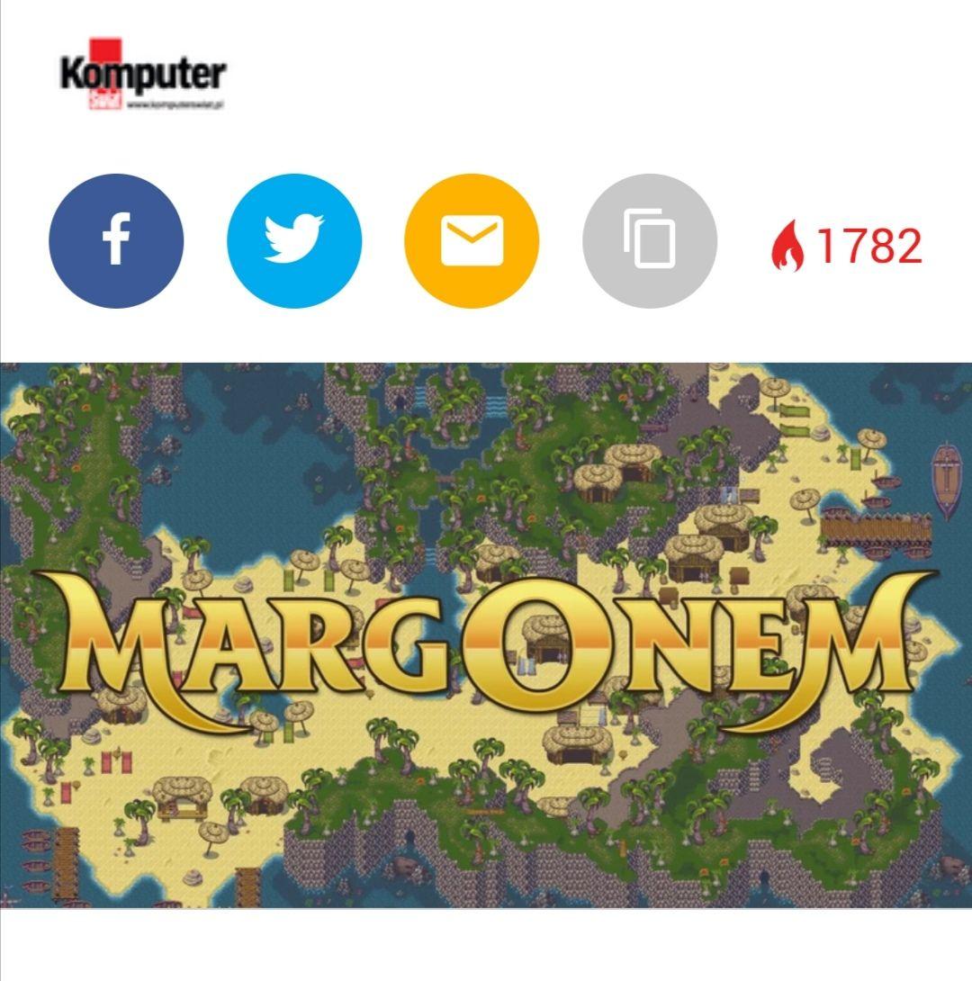 Margonem, kod 60zl w gazecie Komputer Świat 9/2019