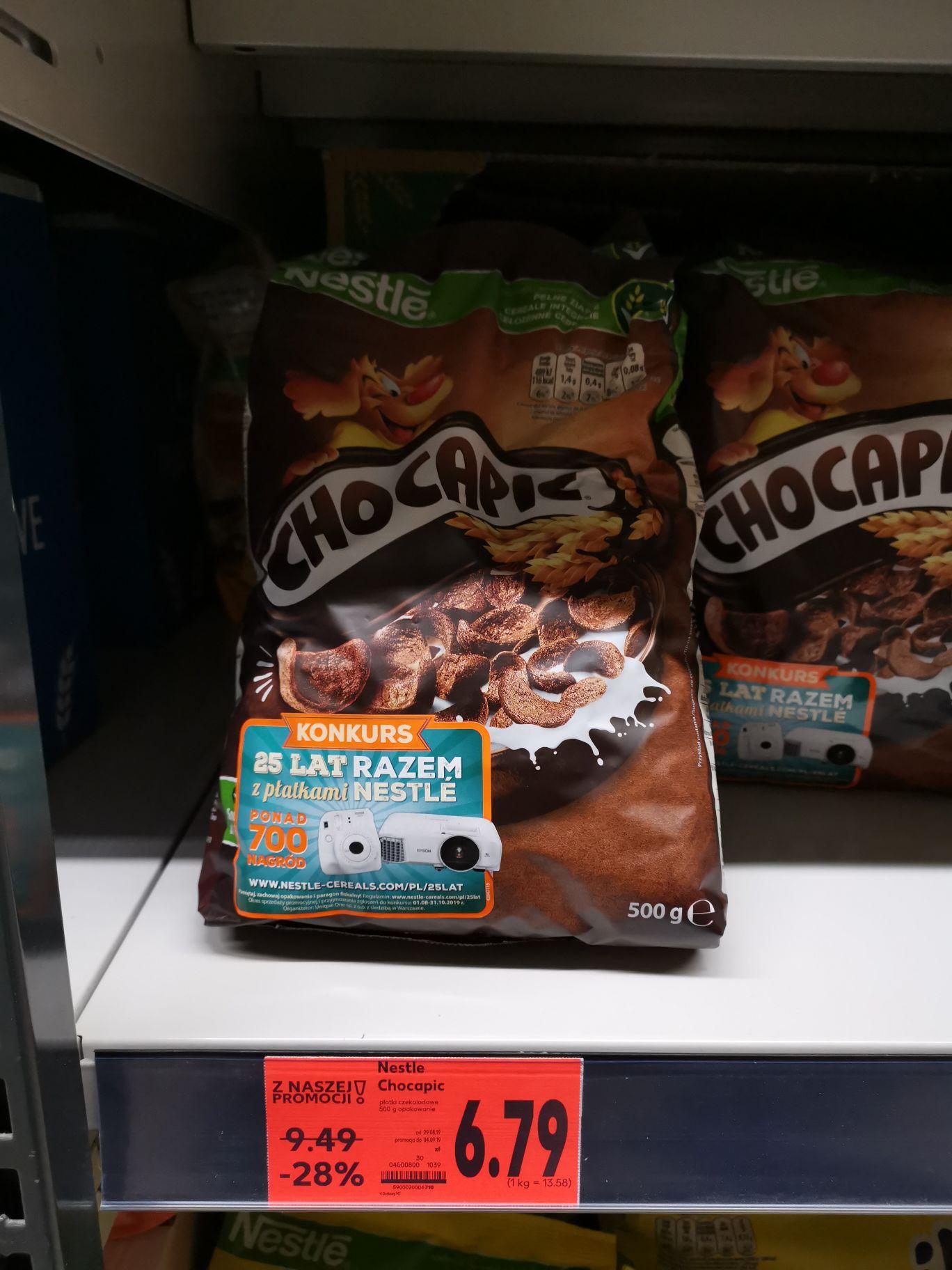 Płatki Chocapic, Coockie Crisp 6,79zl za 500G. Kaufland