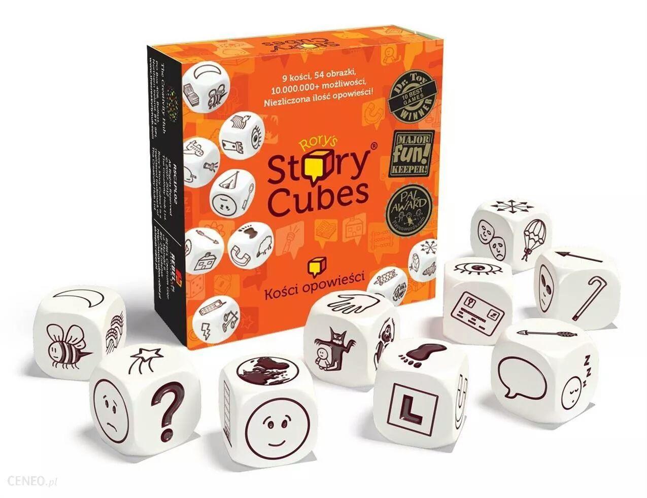 Gra Story Cubes za 9,99 w Tesco. Różne rodzaje.