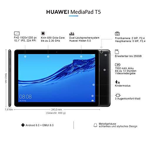 Huawei MediaPad T5 10,1' 3/32 Gb WiFi