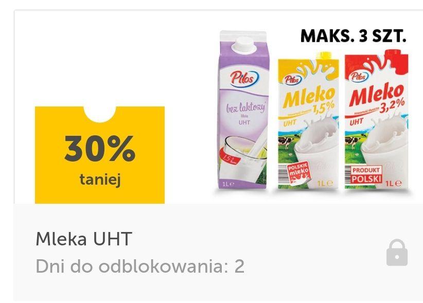 Mleka UHT taniej o 30 procent. Lidl