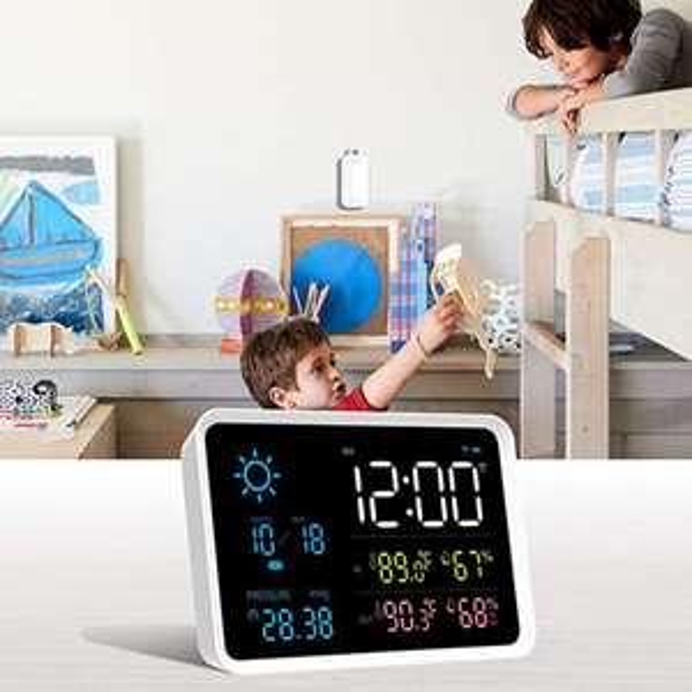 Termometr z czujnikiem zewnętrznym YUIHome Xiaomi Youpin 19,07$ Cena według revolut z uwzględnioną wysyłką.