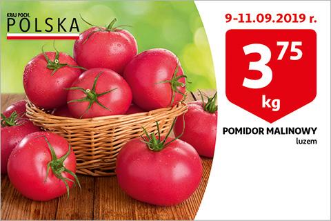 Pomidory malinowe w Auchanie