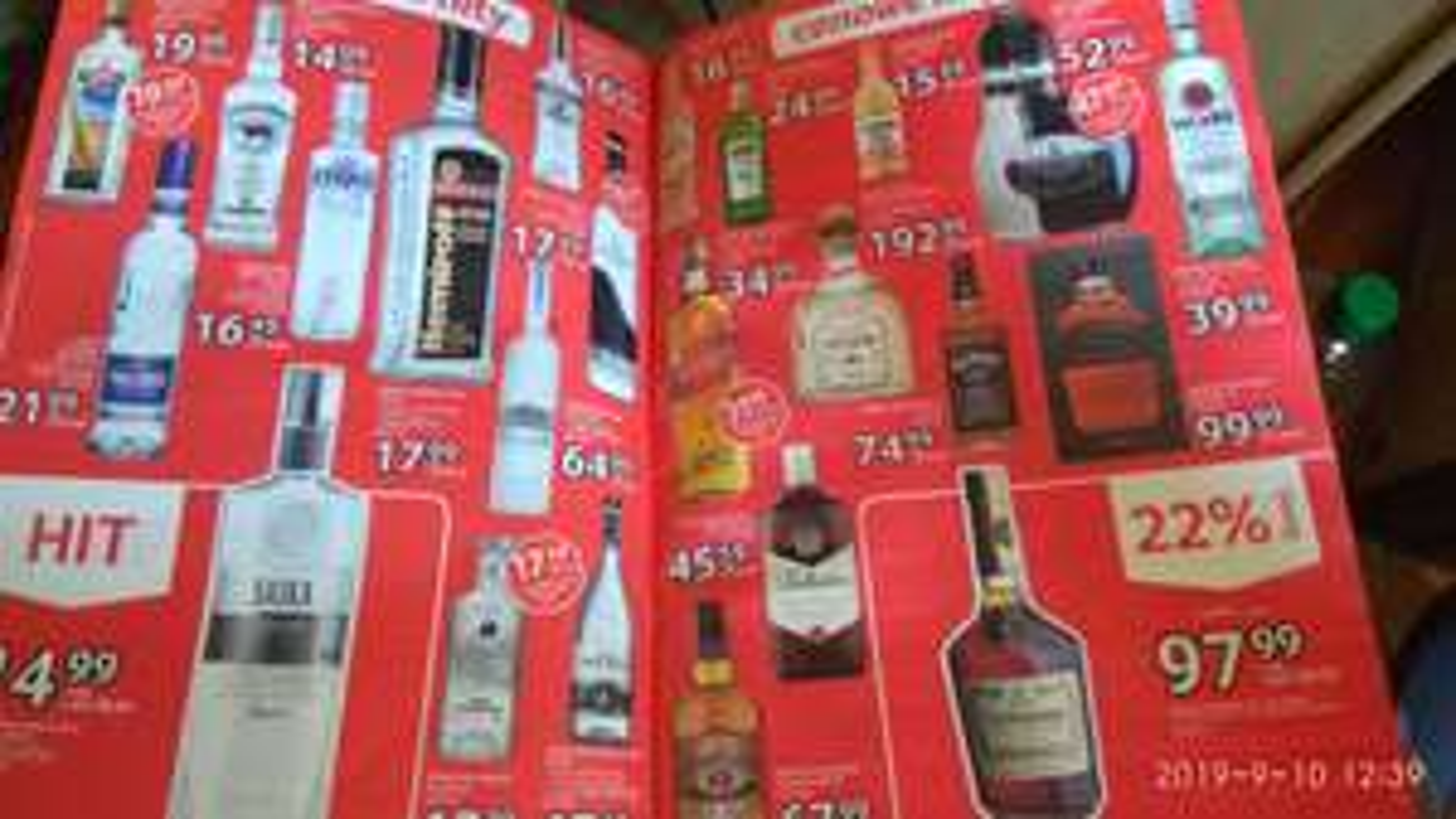 """(18+) Alkohole selgros gazetka """"5 urodziny"""""""