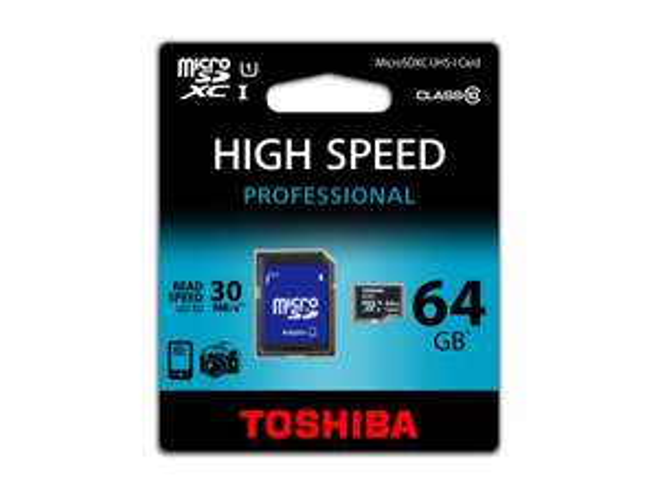 Karta microSD TOSHIBA 64GB Class10 UHS I + Adapter na Allegro