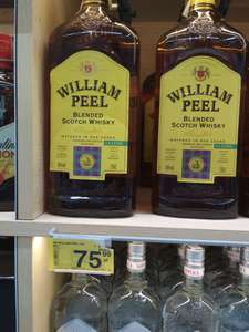 William Peel whisky, 76 zł 1½ litra Carrefour