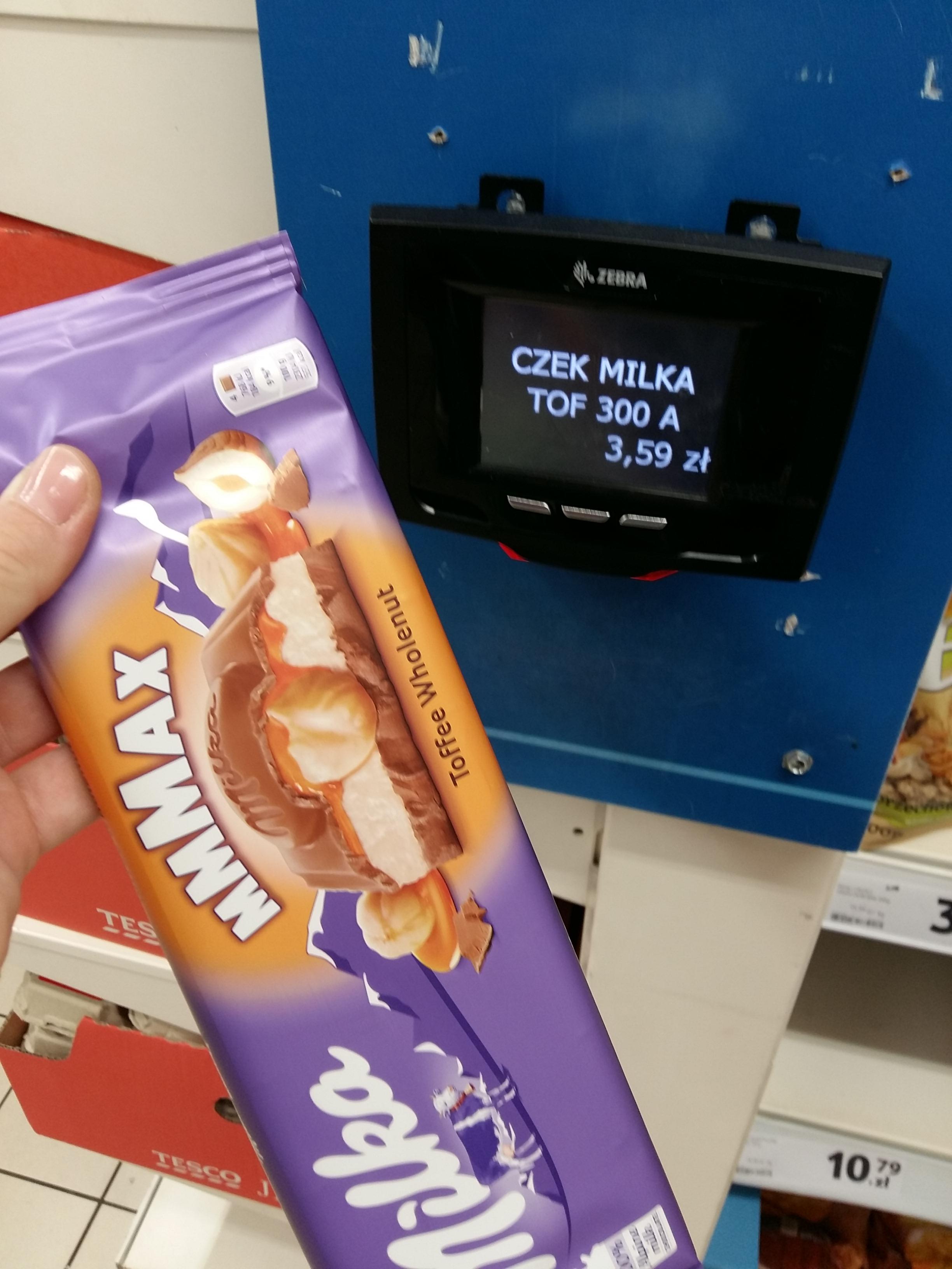 Milka ; Mleko dla dzieci Tesco Mińsk Mazowiecki
