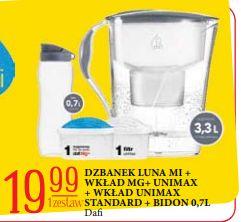 Dzbanek Dafi Luna Mi 3,3l + bidon + 2 filtry @E.Leclerc