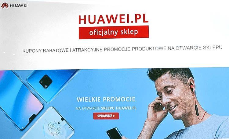 15% rabatu w nowym, oficjalnym sklepie online HUAWEI