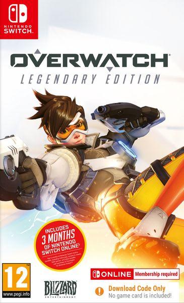 Overwatch Legendary Edition Nintendo Switch +3 miesiące abonamentu Nintendo Online GRATIS