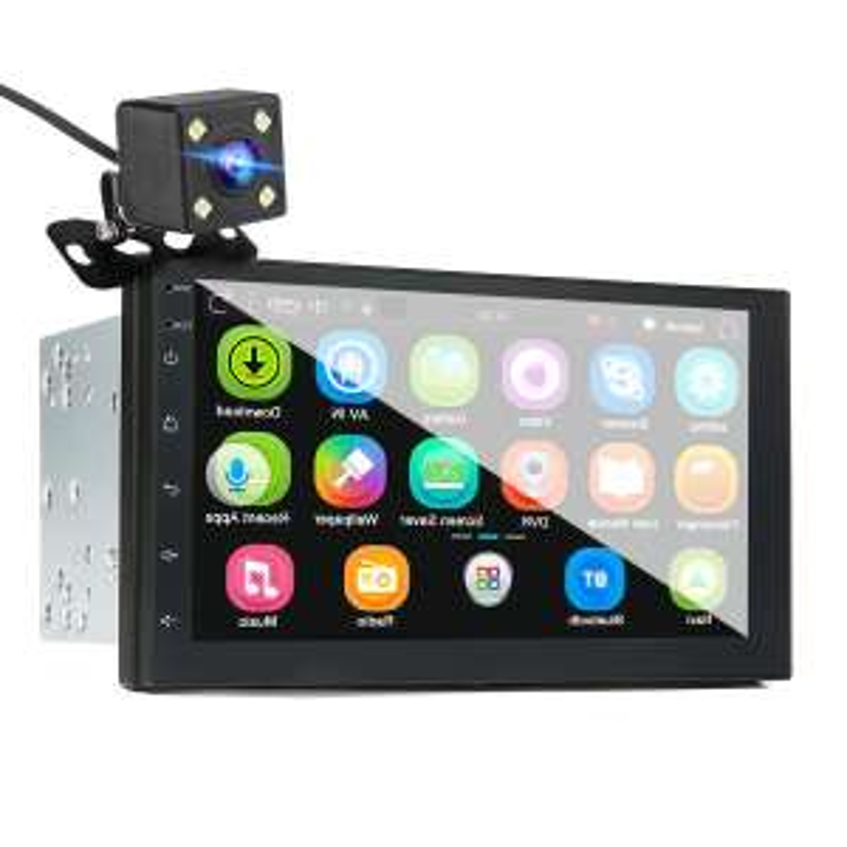 """Radioodtwarzacz iMars 2DIN, 7"""",Android 8.0, GPS, tylna kamera"""