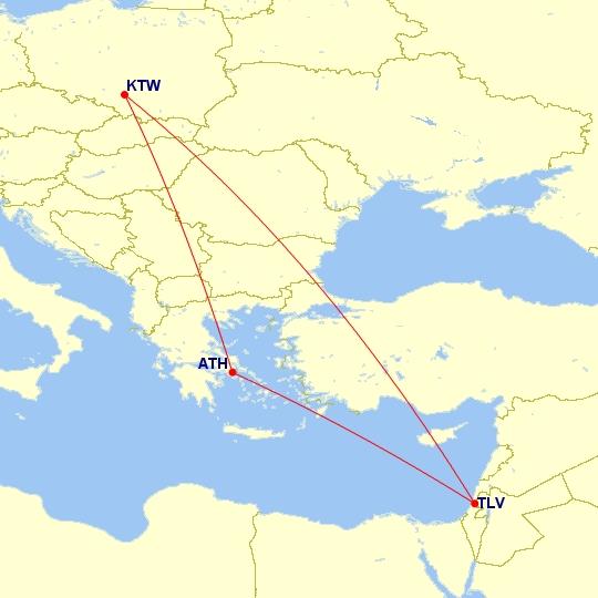#Multicity #LastMinute [Ateny + Tel Aviv] Loty z Katowic 15-22 września