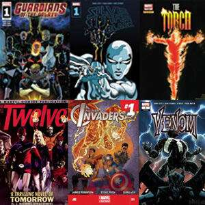 Komiksy Marvel za darmo: Silver Surfer,Guardians of the Galaxy,The Amazing Spider-Man, The Torch i inne