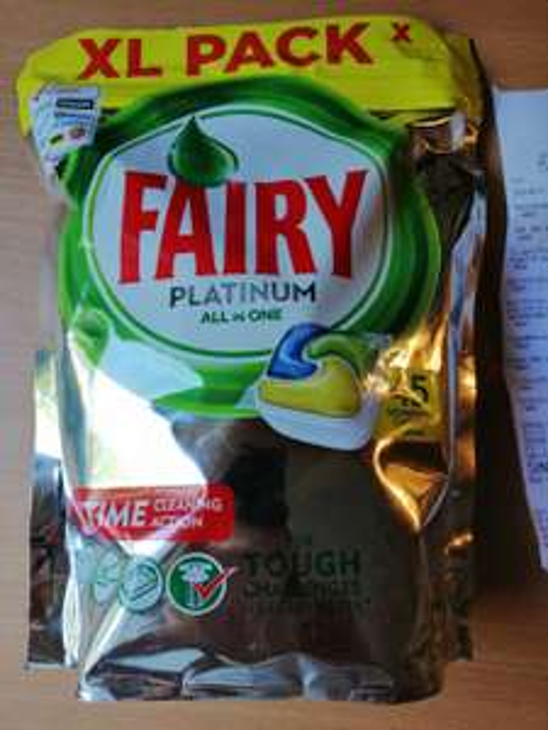 Fairy Platinum All in one tabletki do zmywarki 45 szt za 25 zł, możliwe 23.74zł Biedronka Stargard Kosciuszki