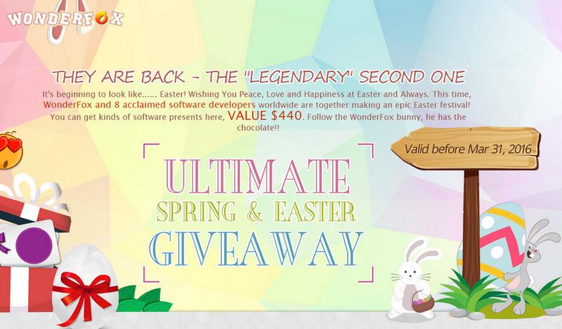 9 Programów za darmo na Wielkanoc od Wonderfox (wartości 440$)