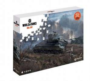 Puzzle 1000 world of tanks / world of warships