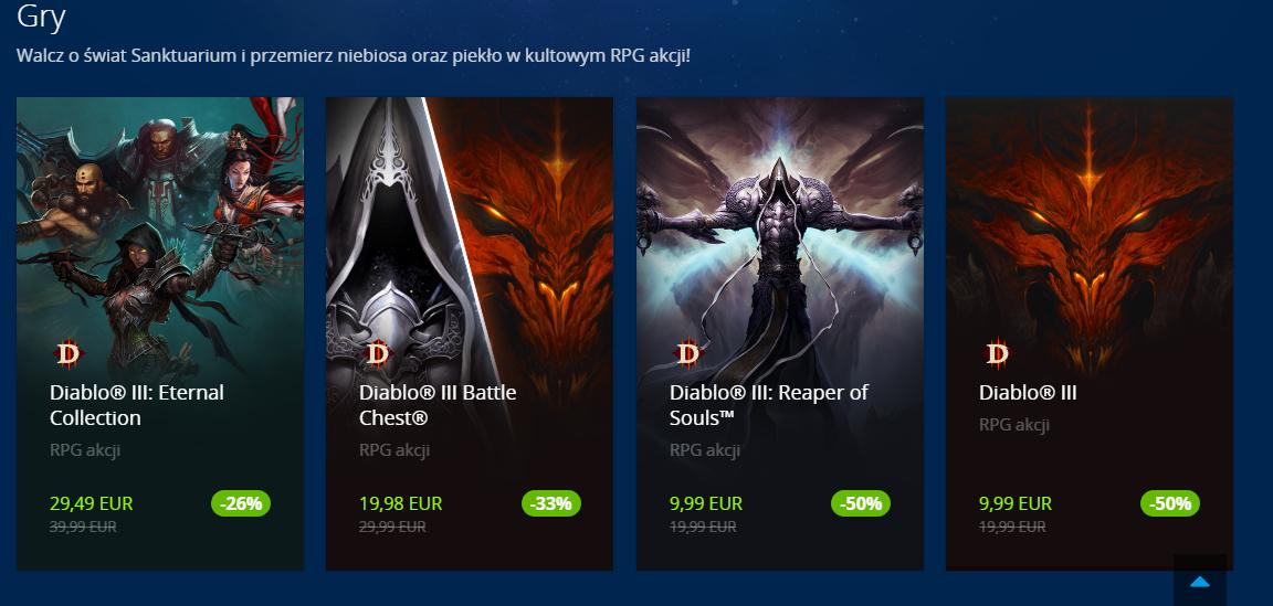 Promka na Diablo 3 / Reaper of Souls na Battle.net