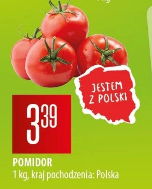 Pomidory 1kg/3.39 z Polski Chata Polska od 12 do 22