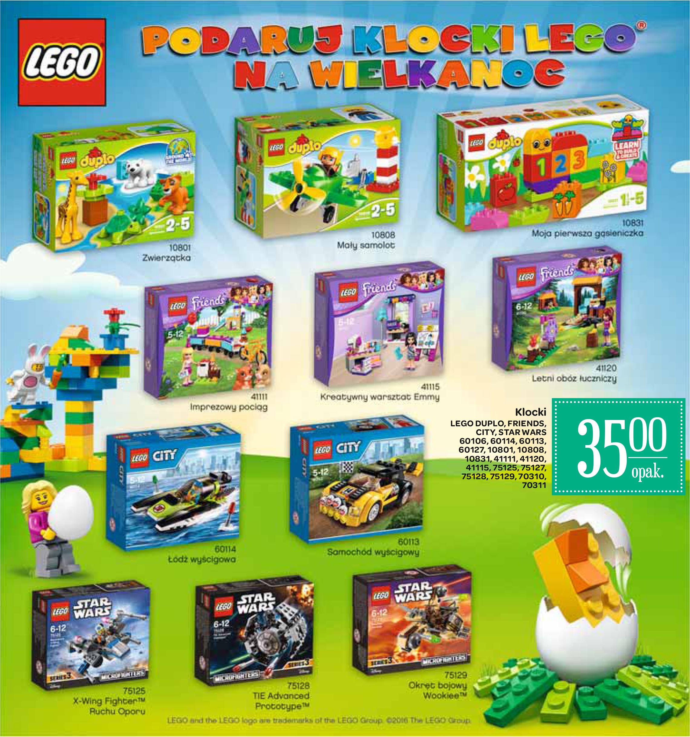 Klocki LEGO różne rodzaje w Carrefour