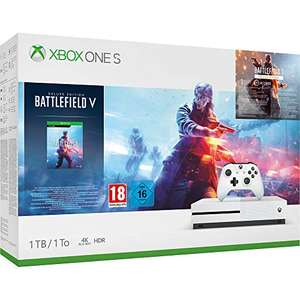 Xbox One S 1TB + Battlefield V Deluxe Edition
